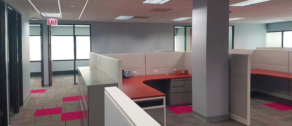 Finished tenant commercial office